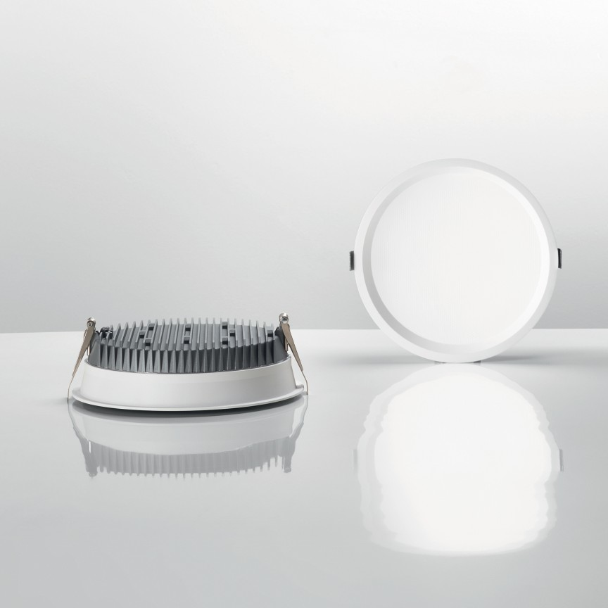 Spot LED incastrabil DEEP 20W 3000K 249032 IDL, Spoturi incastrate - tavan fals / perete,  a