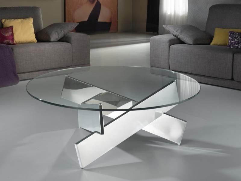 Masa rotunda moderna, diam.105cm  -Coffee table- Denver 860752/2083, Mobila si Decoratiuni,  a