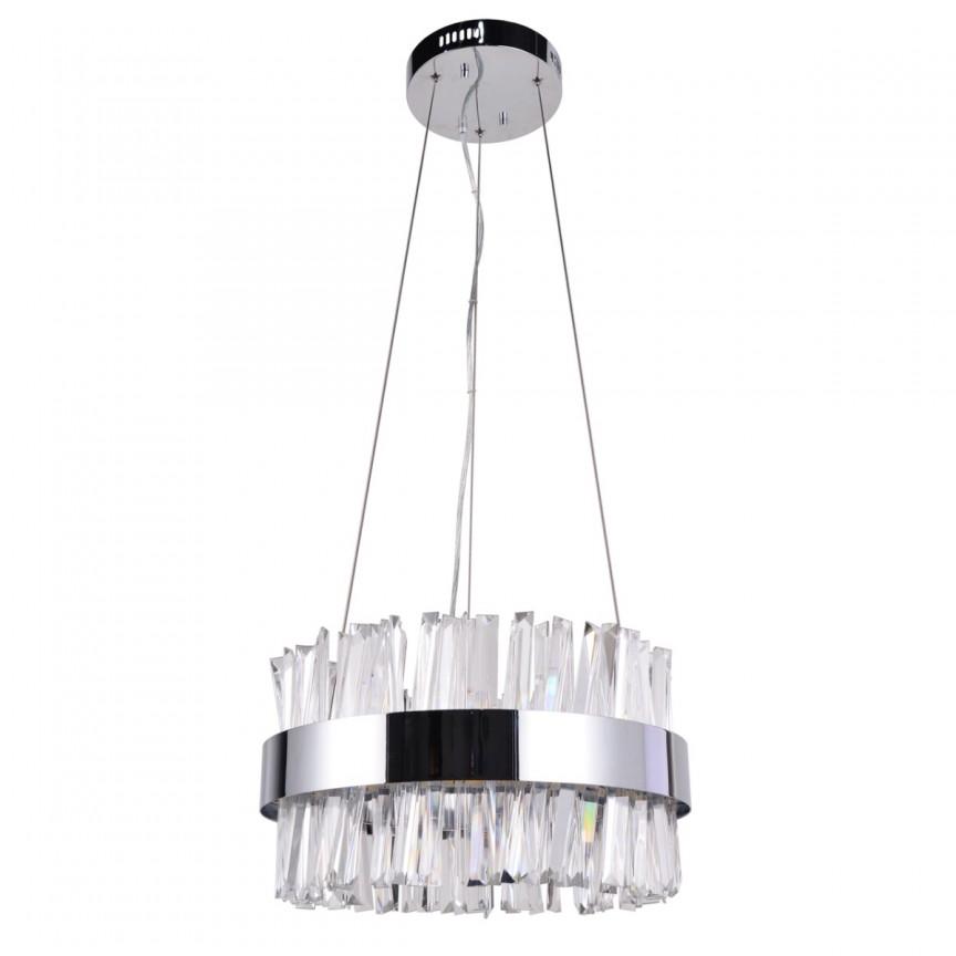 Lustra LED design modern cu telecomanda Adelard 45cm 642014501 MW, Lampi LED si Telecomanda,  a