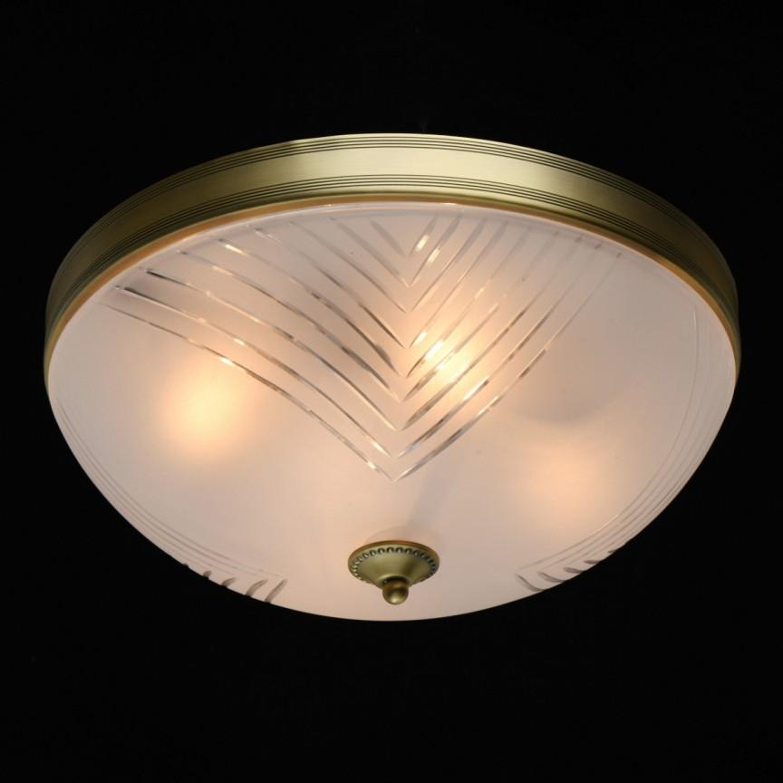Plafoniera design clasic Aphrodite 40cm 317015004 MW, Lustre aplicate / Plafoniere clasice, tavan⭐ modele de lux pentru dormitor, living, bucatarie, hol.✅DeSiGn decorativ 2021!❤️Promotii lampi❗ ➽ www.evalight.ro. Alege oferte la corpuri de iluminat interior stil clasic (rotunde si patrate) pt perete camera, din metal cu cu abajur sticla tiffany, decor cu cristale, material textil, lemn, becuri LED, ieftine de calitate deosebita la cel mai bun pret. a