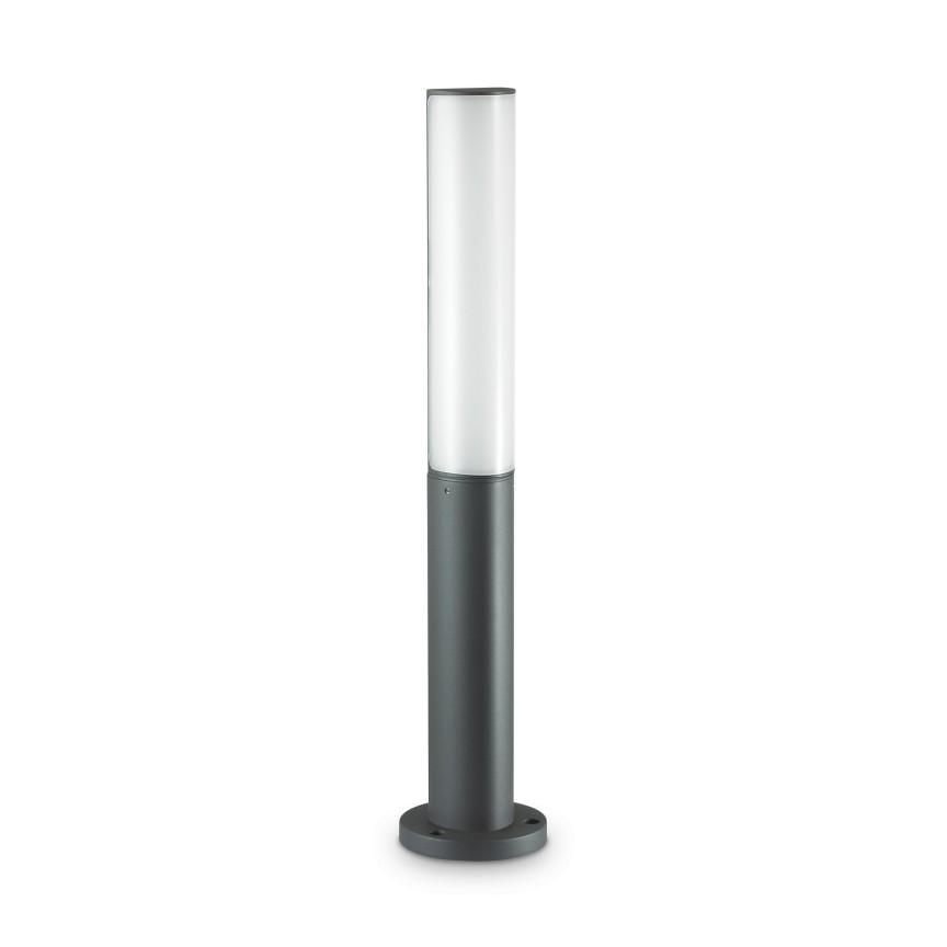 Stalp LED exterior design modern ETERE PT ANTRACITE 3000K 246932 IDL, Stalpi de iluminat exterior mici si medii ,  a