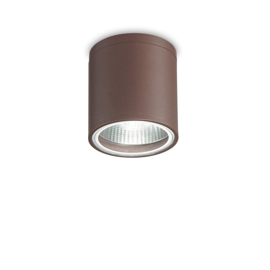 Spot aplicat IP44 GUN PL1 COFFEE 163666 IDL, Plafoniere de exterior LED⭐modele clasice, rustice, moderne potrivite pentru iluminare casa, terasa si balcon.✅Design premium actual Top 2020!❤️Promotii Lampi de exterior❗ ➽ www.evalight.ro. Alege oferte la corpuri de iluminat decorative pt tavan sau perete rezistente la apa, (solare cu senzori de miscare si becuri economice cu LED), din metal antichizat, fier forjat, lemn, abajur sticla decorata cu stil vintage, industrial, ieftine si de lux, calitate deosebita la cel mai bun pret. a