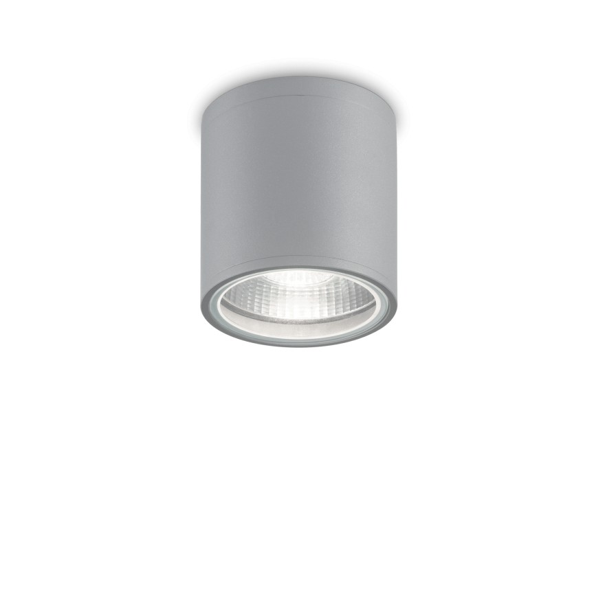Spot aplicat IP44 GUN PL1 GRIGIO 163642 IDL, Plafoniere exterior⭐ lampi de iluminat exterior rustice, clasice, moderne pentru terasa casa.✅Design cu LED decorativ 2021!❤️Promotii online❗ Magazin➽www.evalight.ro. Alege oferte la corpuri de iluminat exterior rezistente la apa, tip aplice si spoturi aplicate pt tavan sau perete, solare cu senzori de miscare, metalice, abajur din sticla cu decor ornamental, ieftine si de lux, calitate deosebita la cel mai bun pret. a