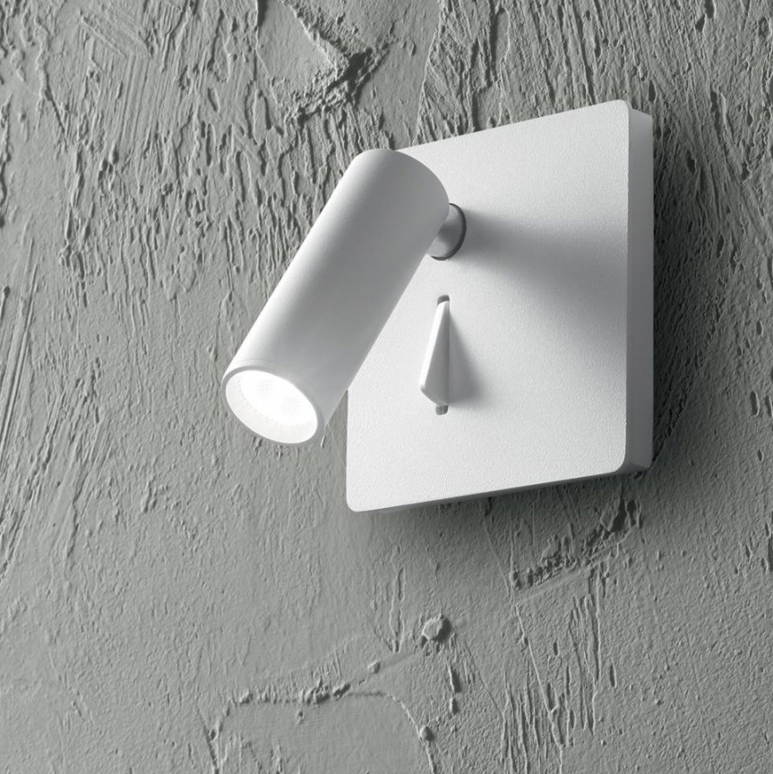 Aplica LED incastrabila LITE AP BIANCO 250106 IDL, Spoturi - iluminat - cu 1 spot,  a