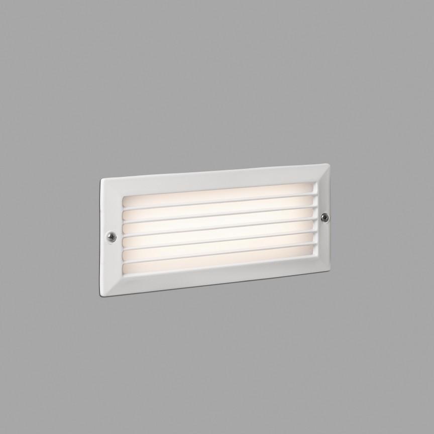 Spot LED incastrabil de exterior IP54 iluminat ambiental STRIPE alb, Spoturi incastrate exterior , LED⭐ modele de tip spot potrivite pentru iluminare terasa, gradina, curte, casa. ✅ Design actual 2020!❤️Promotii lampi incastrate de exterior❗ ➽ www.evalight.ro. Alege oferte la corpuri de iluminat exterior incastrat rezistente la apa, directionabile cu lumina ambientala reglabila, montate in perete, tavan, ingropate in pavaj si pardoseala si pamant, scari si trepte beton, forme (rotunde si patrate,), ieftine de calitate la cel mai bun pret. a