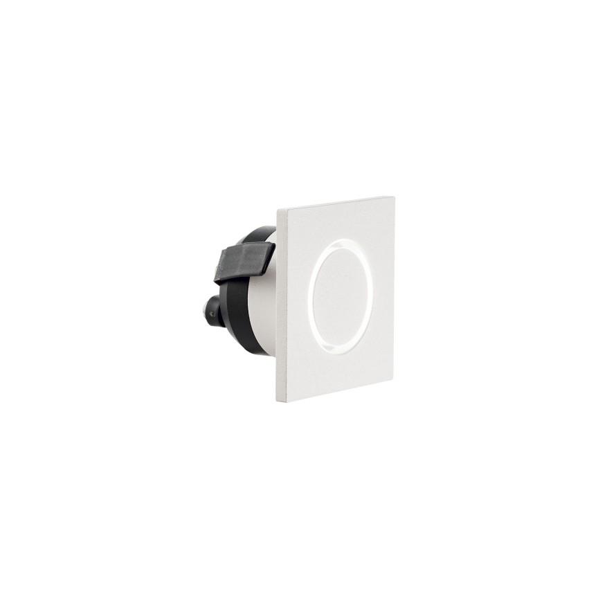 Mini spot LED incastrabil O-LINE SQUARE 4,5x4,5cm 239811 IDL, Spoturi incastrate - tavan fals / perete,  a