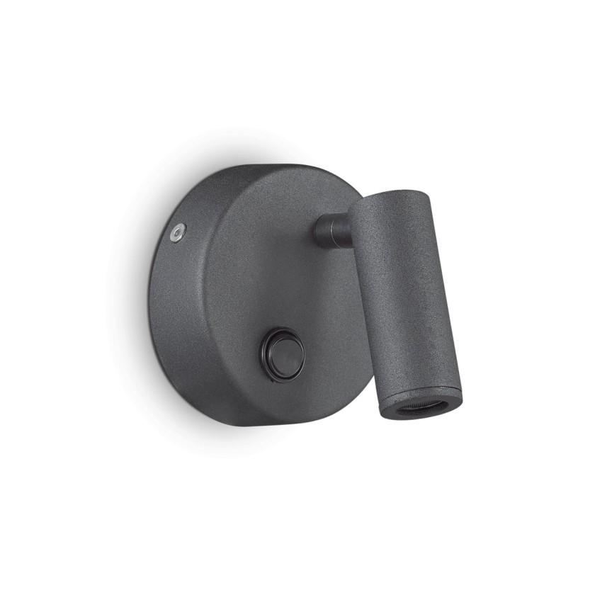 Aplica LED directionabila PAGE AP ROUND NERO 142579 IDL, Spoturi - iluminat - cu 1 spot,  a