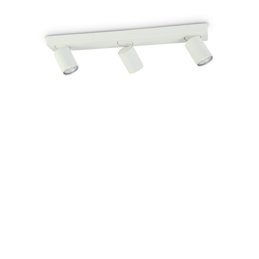 Plafoniera cu 3 spoturi directionabile RUDY PL3 BIANCO 229065 IDL, Lustre / Plafoniere cu 3 spoturi, LED⭐ modele moderne potrivite pentru tavan hol, dormitor, living, baie, bucatarie, camera copii.✅ Design premium actual Top 2020! ❤️Promotii lampi❗ ➽ www.evalight.ro. Alege oferte la corpuri de iluminat (rotunde si patrate) ieftine si de lux, calitate deosebita la cel mai bun pret. a
