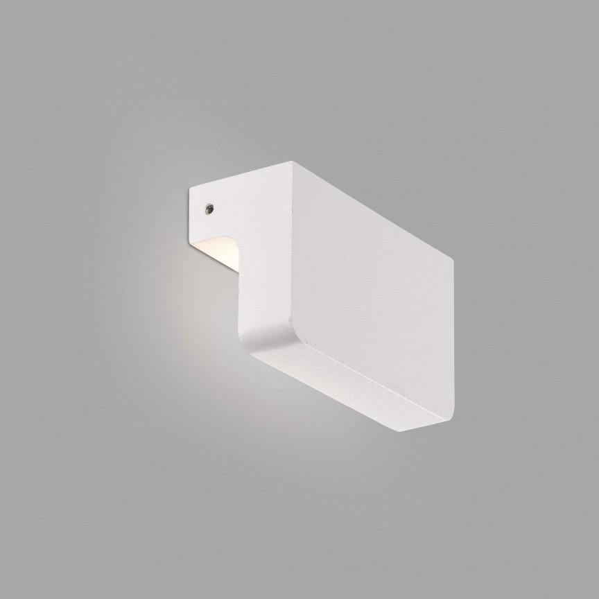 Aplica LED de exterior ambientala IP65 NINE alba, Magazin,  a