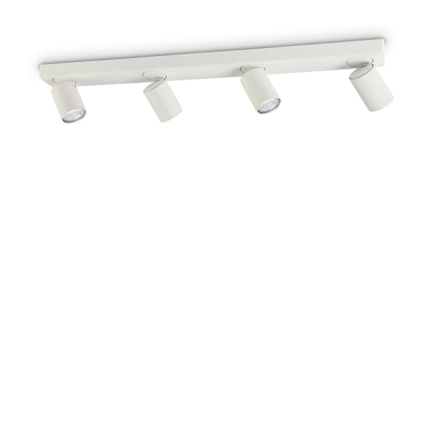 Plafoniera cu 4 spoturi directionabile RUDY PL4 BIANCO 229089 IDL, Plafoniere cu spoturi, LED⭐ modele moderne corpuri de iluminat tip spoturi aplicate pe tavan sau perete.✅Design decorativ 2021!❤️Promotii lampi❗ ➽ www.evalight.ro. Alege oferte NOI de lustre interior tip plafoniere cu 4 spoturi LED, lumina cu directie reglabila pentru living, dormitor, bucatarie, baie, hol, camera copii, calitate de lux la cel mai bun pret. a