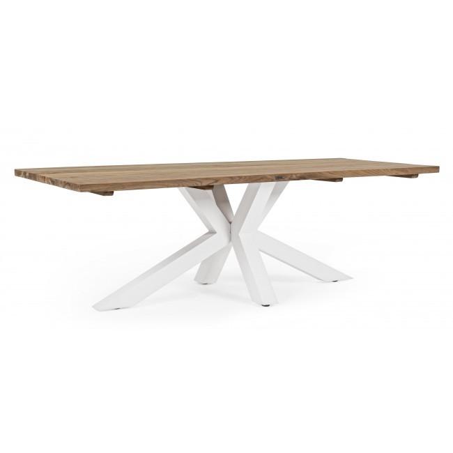 Masa dining design modern RAMSEY 240x100cm, alb 0804456 BZ, Mobilier terasa si gradina,  a