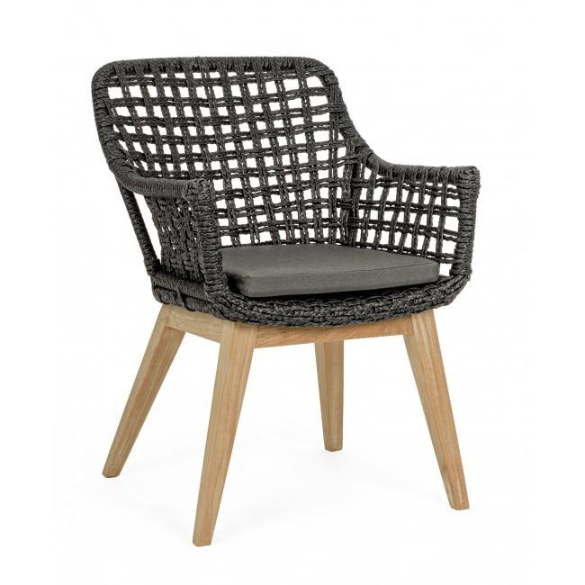 Set 2 scaune design modern in&out MADISON, negru 0804703 BZ, Seturi scaune dining, scaune HoReCa,  a
