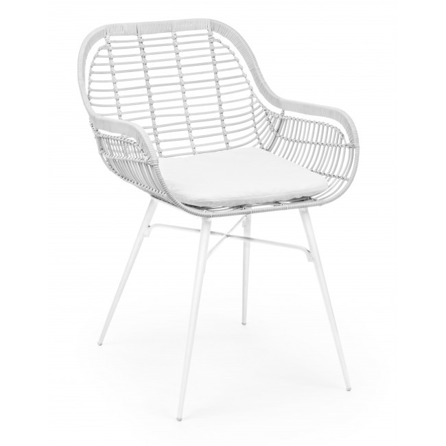 Set 4 scaune design modern BELISA, alb 0671485 BZ, Seturi scaune dining, scaune HoReCa,  a