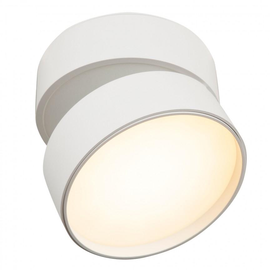 Spot LED directionabil Onda alb MY-C024CL-L18W, Cele mai vandute Corpuri de iluminat, lustre, aplice, veioze, lampadare, plafoniere. Mobilier si decoratiuni, oglinzi, scaune, fotolii. Oferte speciale iluminat interior si exterior. Livram in toata tara.  a