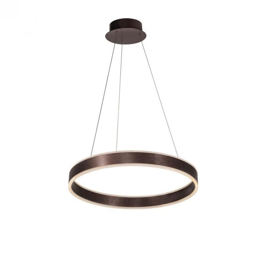 Lustra LED dimabila design modern Ø60cm Nador I Coffee, Cele mai vandute Corpuri de iluminat, lustre, aplice, veioze, lampadare, plafoniere. Mobilier si decoratiuni, oglinzi, scaune, fotolii. Oferte speciale iluminat interior si exterior. Livram in toata tara.  a