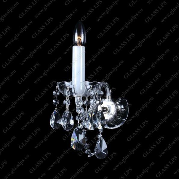 Aplica eleganta cristal Bohemia N21 918/01/1-A, Aplice de perete Cristal Bohemia⭐ modele deosebite din cristal Bohemia autentic din Cehia❗ ✅Design unicat Premium Top 2021!❤️Promotii lampi cristal❗ ➽ www.evalight.ro. Alege oferte la corpuri de iluminat de perete tip aplica din cristal, pt camere interioare elegante de lux, decorate in stil Baroc, clasice si moderne dar si traditionale, realizate din decoratiuni de sticla si din cristal slefuit manual, abajur de material textil, brate tip lumanare cu bec-uri cu filament normal, vintage Edison sau LED, din metale pretioase  de culoarea alamei lustruite (chiar si aur de 24 carate) sau din nichel (argint), finisaj bronz antique, potrivite pt iluminare camere (living, dormitor, bucatarie, sufragerie, hol), de calitate înalta la cel mai bun pret. a