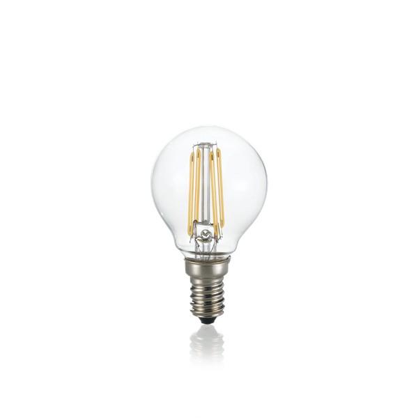 Bec LED dimabil E14 04W SFERA TRASP 3000K 188935 IDL, Becuri E14, LED pentru iluminat interior si exterior.⭐Cumpara online si ai livrare Acasa.✅Modele decorative vintage, LED si clasice cu filament Edison style.❤️Promotii la becuri E14 Economice si cu Halogen❗ Alege oferte speciale la Becuri cu soclu de tip E14 potrivite pentru corpurile de iluminat: casa, baie, terasa, balcon si gradina❗ Cele mai bune becuri si surse de iluminat inteligente: cu senzor de miscare (telecomanda), (solare) cu consum redus de energie, surse incandescente cu dulie si soclu normale (ceramica, sticla, plastic, aluminiu), LED dimabile cu lumina calda (3000K), lumina rece alba (6500K) si lumina neutra (4000K), lumina naturala, flux luminos cu lumeni multi, bec LED echivalent 40W / 60W / 100W  tensinea curentului electric este de 12V fata de 220V (Volti) si durata mare de viata, becuri cu lumina puternica stralucitoare, colorate si multicolore, cu forma de lumanare, mari si rezistente la caldura si la apa, ce se aprinde instant la trecerea curentului electric, ieftine si de lux, cu garantie si de calitate deosebita la cel mai bun pret❗ a