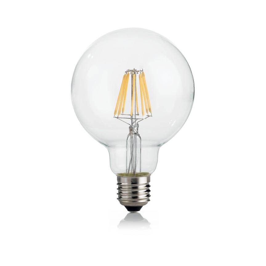 Bec LED dimabil E27 08W GLOBO D095 TRASP 3000K 188966 IDL, Becuri E27,  a