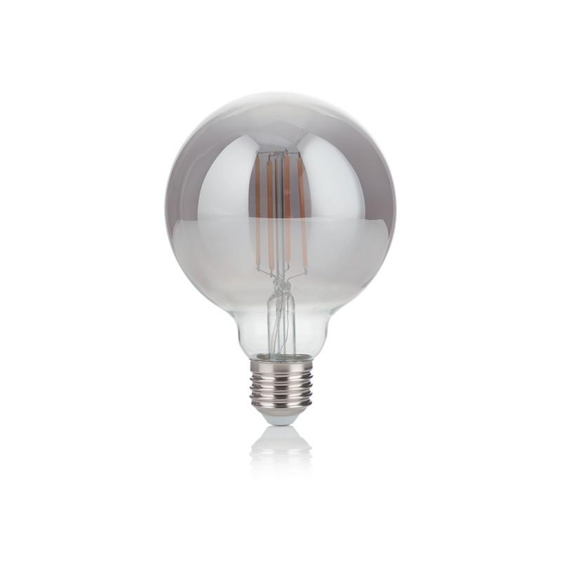 Bec LED E27 VINTAGE 04W GLOBO D095 FUME' 2200K 204475 IDL, Becuri E27,  a
