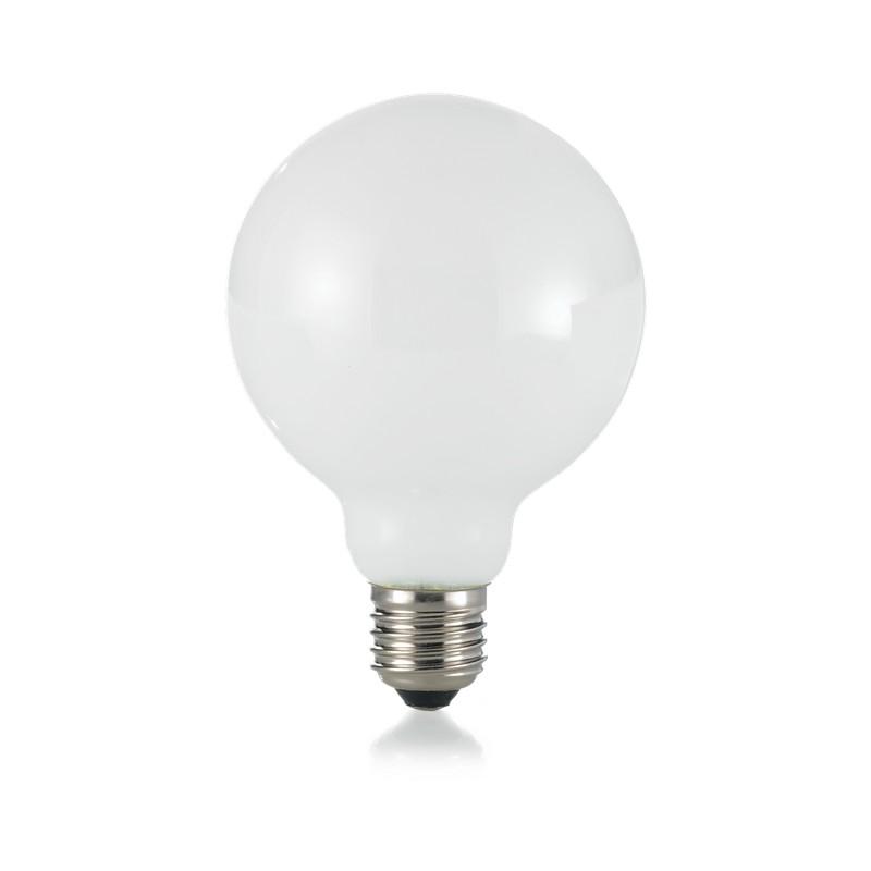 Bec LED dimabil E27 08W GLOBO D095 BIANCO 3000K 252186 IDL, Becuri E27,  a