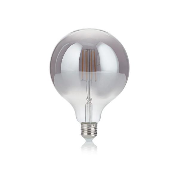 Bec LED E27 VINTAGE 04W GLOBO D125 FUME' 2200K 204468 IDL, Becuri E27,  a