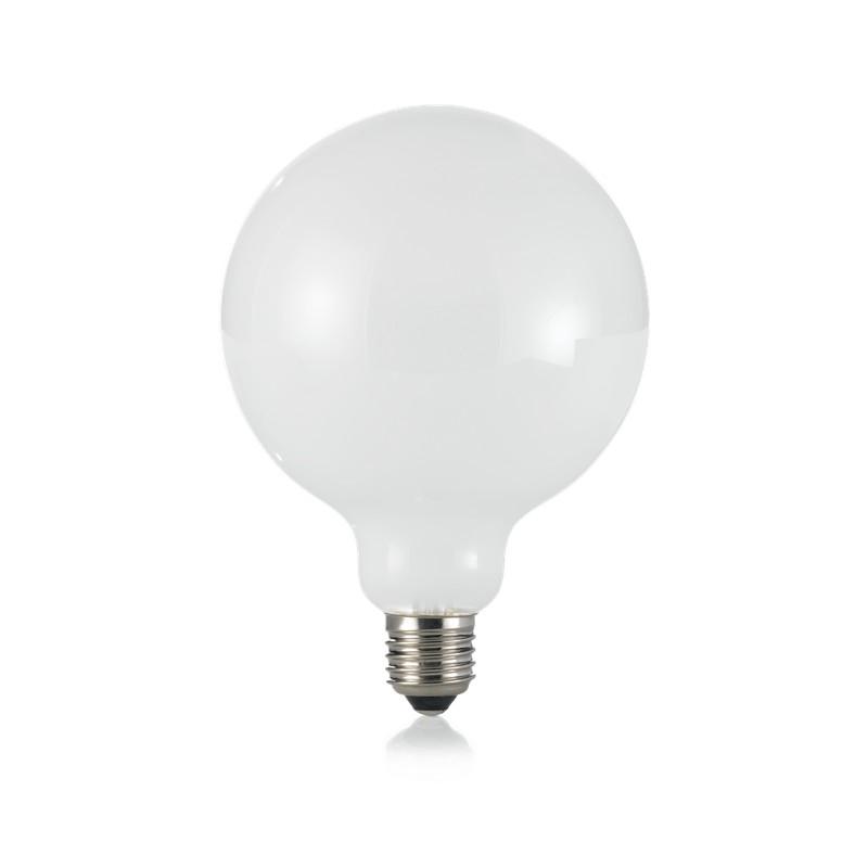Bec LED E27 08W GLOBO D125 BIANCO 4000K 253435 IDL, Becuri E27,  a