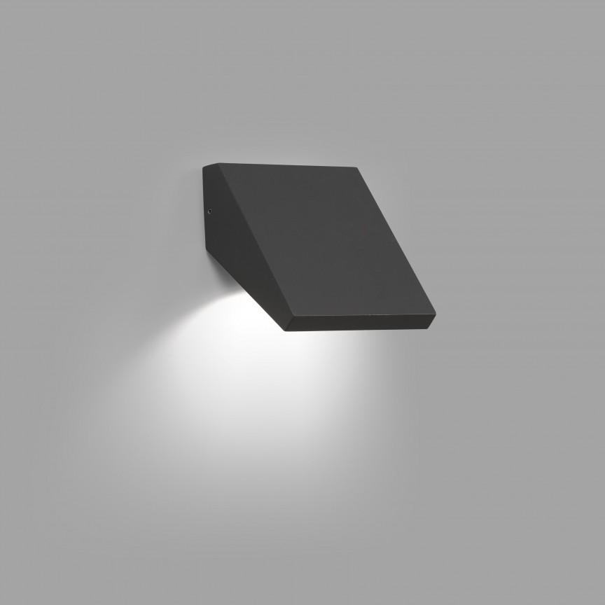 Aplica LED de perete exterior ambientala IP65 GUIZA, Aplice de exterior moderne ,  a