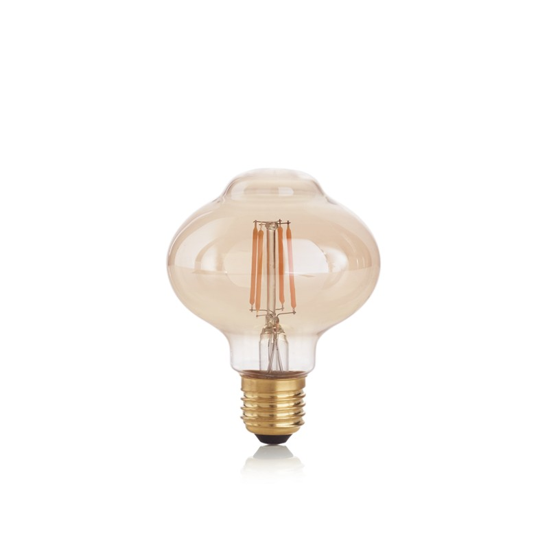 Bec LED E27 VINTAGE 04W BOLLA AMBRA 2200K 201283 IDL, Becuri E27,  a
