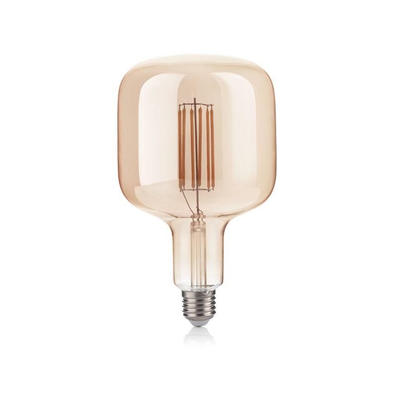 Bec LED E27 VINTAGE 06W BULLET AMBRA 2200K 237350 IDL, Becuri E27,  a
