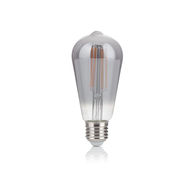 Bec LED E27 VINTAGE 04W CONO FUME' 2200K 204451 IDL, Becuri E27,  a