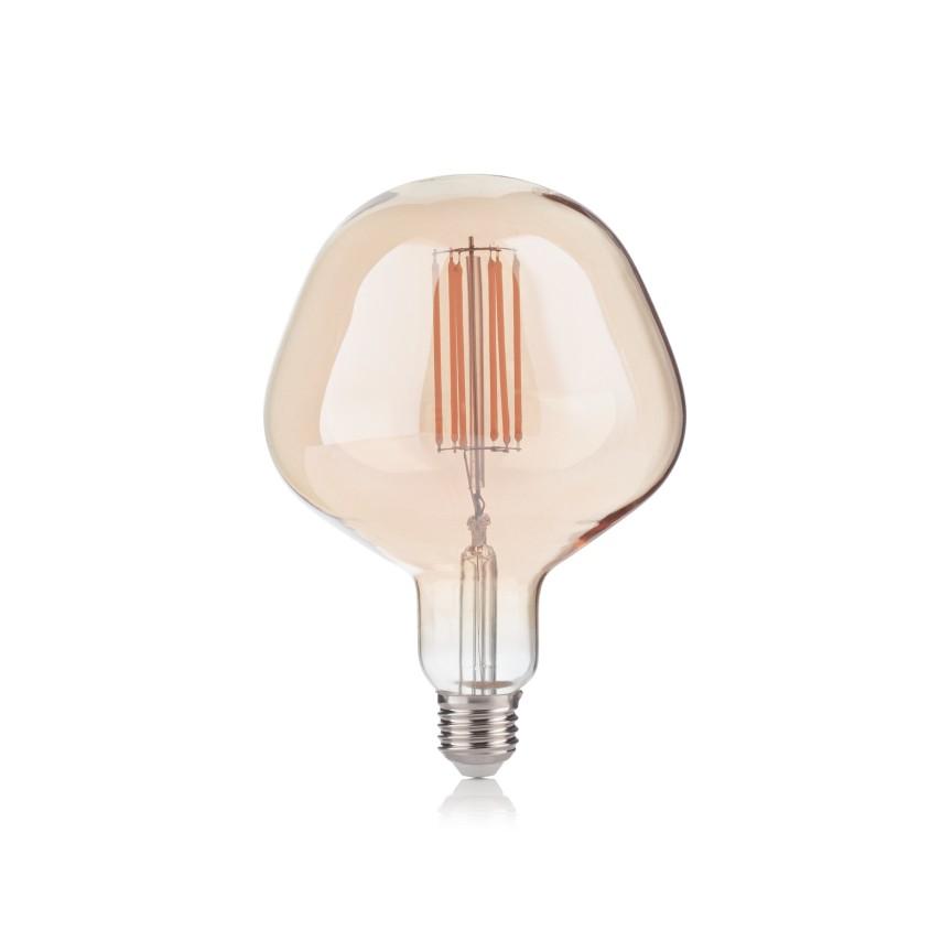 Bec LED E27 VINTAGE 06W APPLE AMBRA 2200K 237374 IDL, Becuri E27,  a