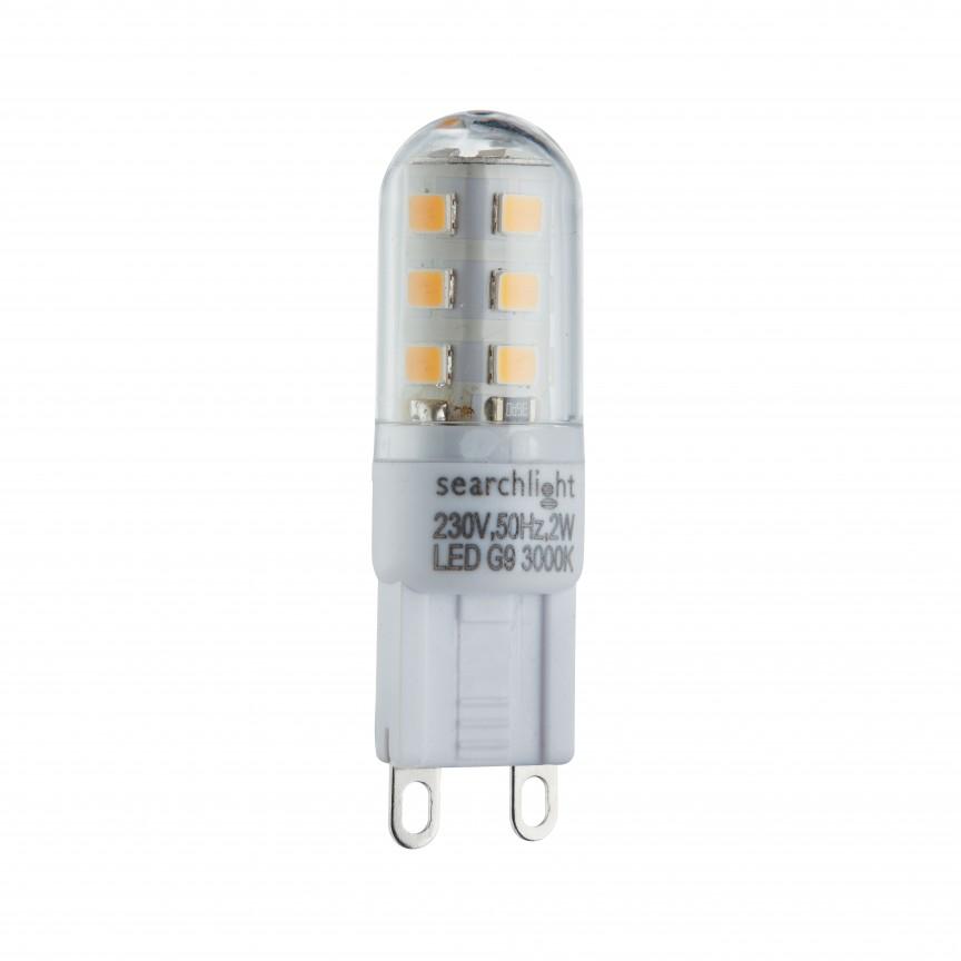 Bec G9 LED 2W, 4000K PL1902CW SRT,  a