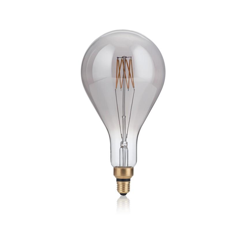 Bec de dimensiuni mari LED E27 VINTAGE XL 08W GOCCIA FUME' 2200K 204543 IDL, Becuri E27,  a