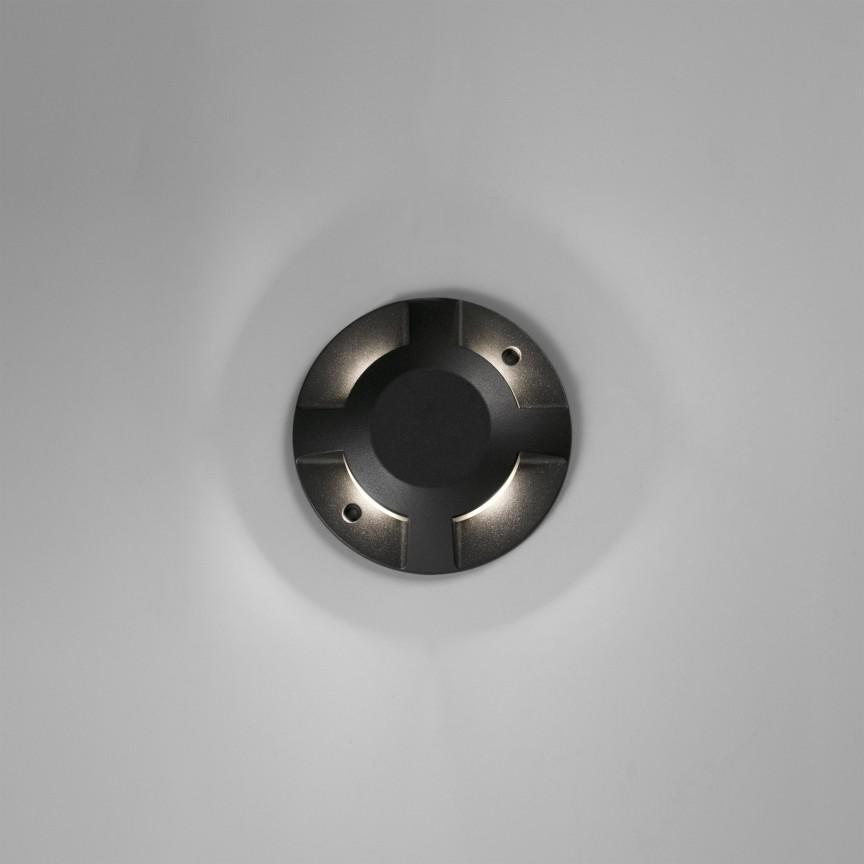 Spot LED / Corp semnalizare de iluminat exterior IP67 LOTH-3, Aplice de exterior moderne ,  a