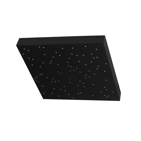 Plafoniera LED cu telecomanda design cer înstelat CIELO negru NVL-9180382, Lampi LED si Telecomanda,  a