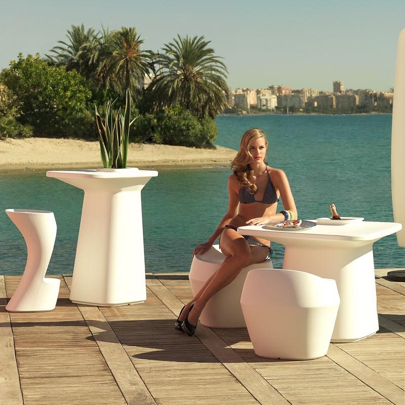 Masa de bar exterior / interior design modern premium MOMA BAR TABLE 45075A Vondom, Mobilier terasa si gradina,  a