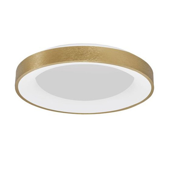 Plafoniera LED 3000K moderna Ø60cm RANDO THIN auriu NVL-9353854, Corpuri de iluminat, lustre, aplice, veioze, lampadare, plafoniere. Mobilier si decoratiuni, oglinzi, scaune, fotolii. Oferte speciale iluminat interior si exterior. Livram in toata tara.
