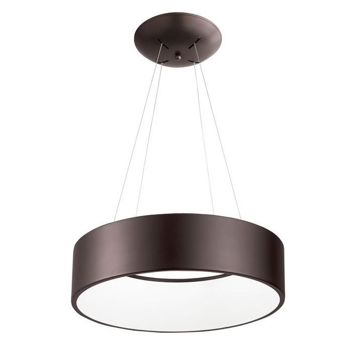 Lustra moderna suspendata LED 3000K Ø45cm RANDO maro NVL-8218208, Cele mai noi produse 2020 a