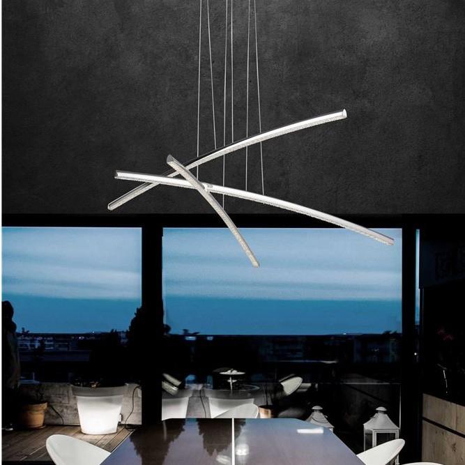 Lustra LED suspendata design modern Seville NVL-81007601, Cele mai noi produse 2020 a