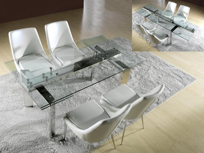 Masa moderna extensibila 160/240 -Dinning table- Dublin 865397, Mese dining, Corpuri de iluminat, lustre, aplice a
