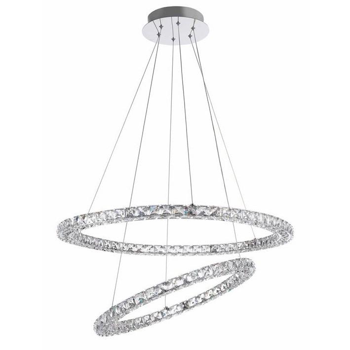 Lustra LED suspendata cristal K9 Quentin NVL-9172518, Cele mai noi produse 2020 a