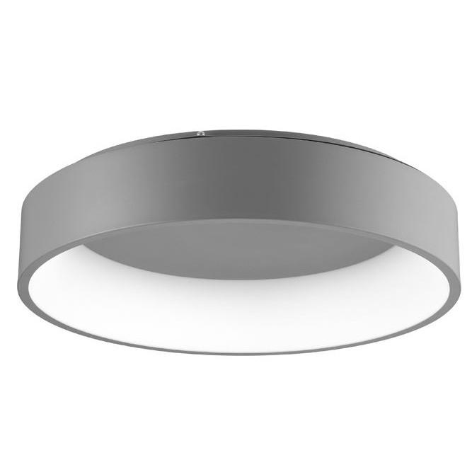 Lustra moderna aplicata LED 3000K Ø60cm RANDO gri NVL-6167208, Plafoniere moderne,  a