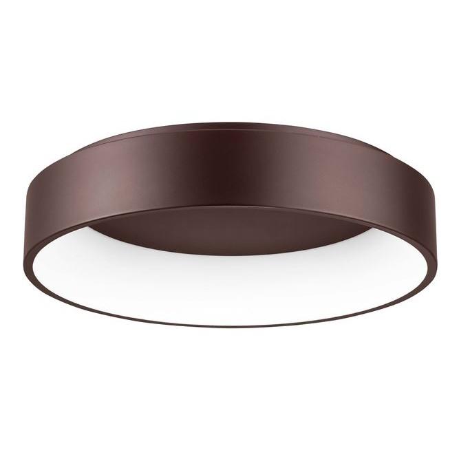 Lustra moderna aplicata LED 3000K Ø60cm RANDO maro NVL-6167210, Plafoniere moderne,  a