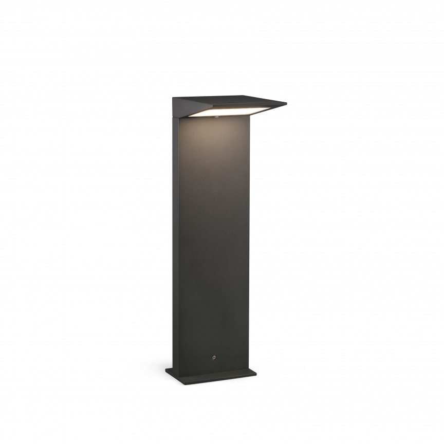 Stalp LED solar iluminat exterior ambiental IP54 SOLEIL, Stalpi de iluminat exterior mici si medii ,  a