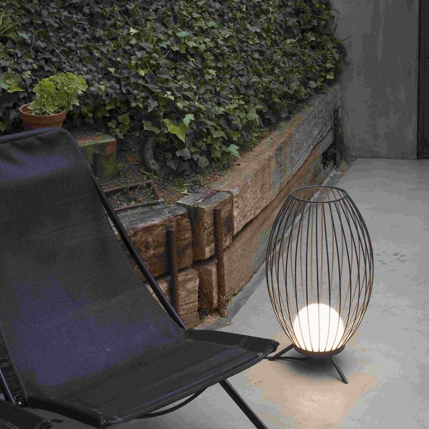 Lampa de podea LED iluminat exterior decorativ IP65 CAGE, Cele mai noi produse 2020 a