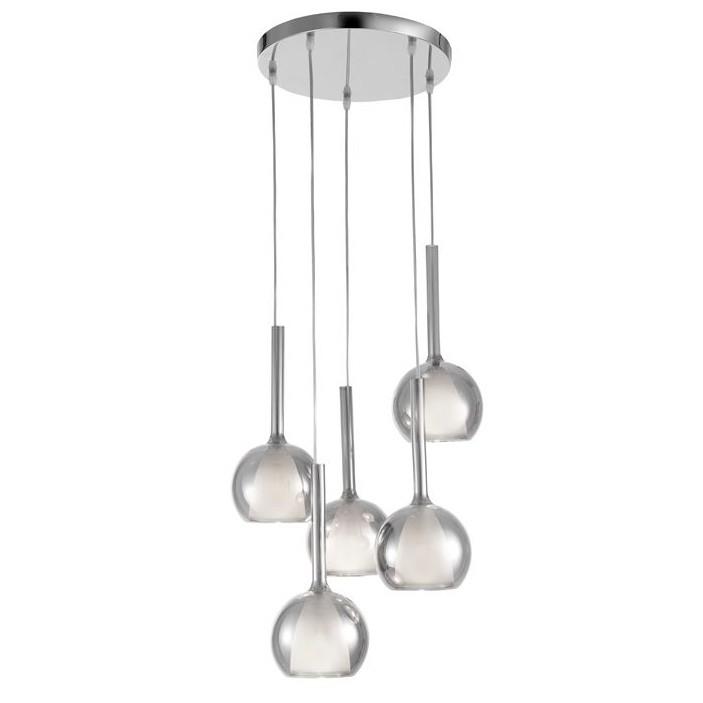 Lustra cu 5 pendule design modern decorativ Aves NVL-8102119 , Cele mai noi produse 2020 a