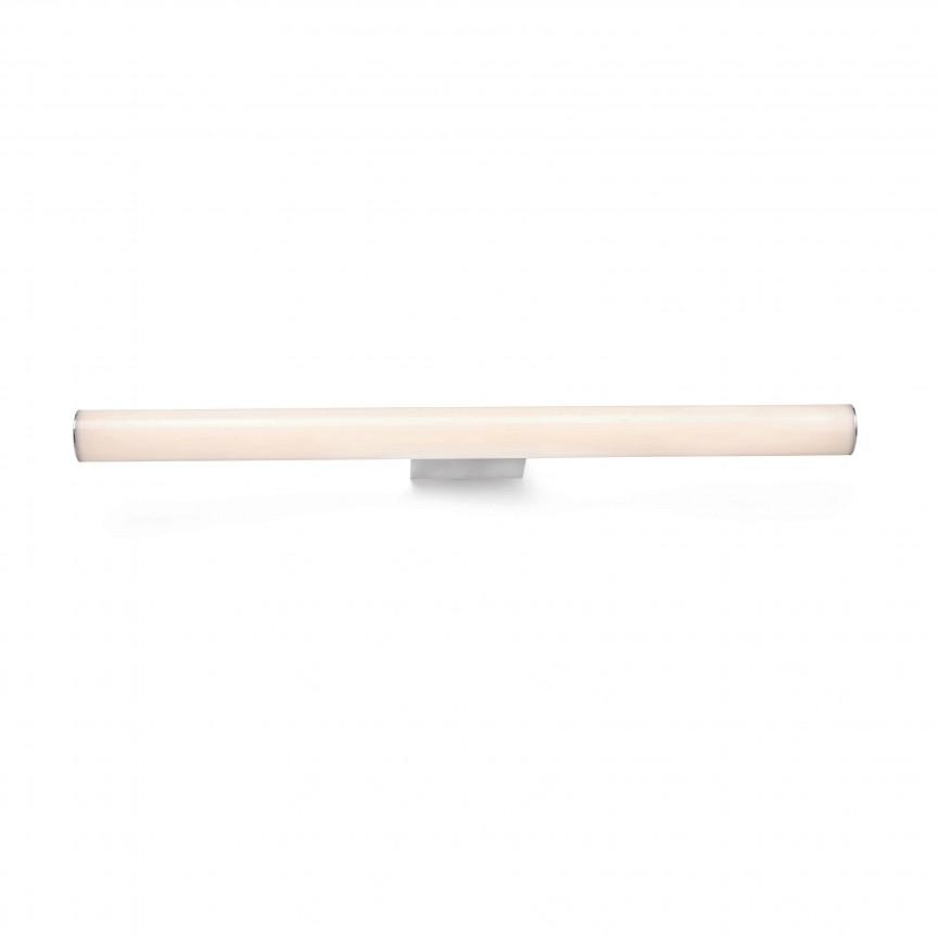 Aplica LED pentru oglinda baie moderna IP44 VOLGA 12W, Aplice pentru baie / oglinda / tablou, LED⭐ modele moderne rezistente la apa potrivite in baie. ✅Design premium actual Top 2020! ❤️Promotii lampi❗ ➽ www.evalight.ro. Alege oferte la corpuri de iluminat interior pt perete baie si tavan (plafon) cu protectie la umiditate, ieftine sau de lux, calitate deosebita la cel mai bun pret! a