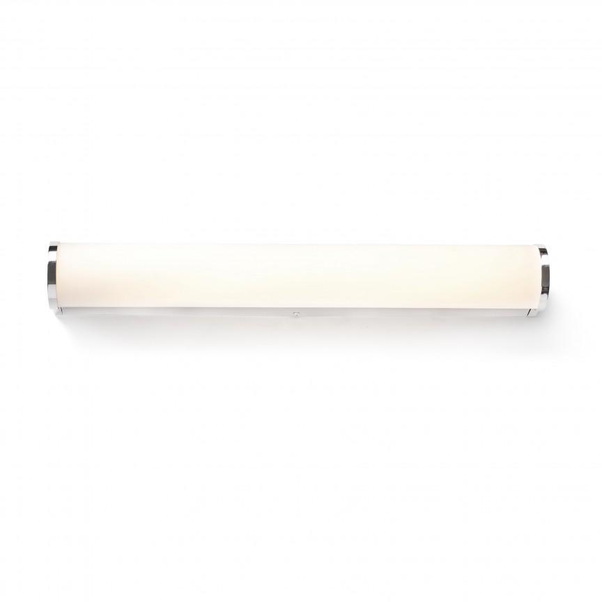 Aplica LED pentru oglinda baie moderna IP44 DANUBIO 18W, Aplice pentru baie / oglinda / tablou, LED⭐ modele moderne rezistente la apa potrivite in baie. ✅Design premium actual Top 2020! ❤️Promotii lampi❗ ➽ www.evalight.ro. Alege oferte la corpuri de iluminat interior pt perete baie si tavan (plafon) cu protectie la umiditate, ieftine sau de lux, calitate deosebita la cel mai bun pret! a