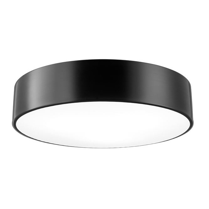 Lustra aplicata design modern Ø45cm Finezza negru NVL-8218403, Plafoniere moderne,  a