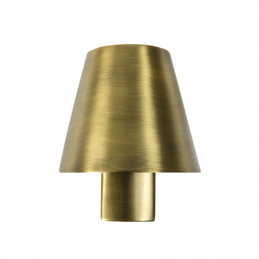 Aplica LED stil modern minimalist LE PETIT LED Satin gold 62163, Aplice de perete LED, moderne⭐ modele potrivite pentru dormitor,living,baie,hol,bucatarie.✅Design premium actual Top 2020!❤️Promotii lampi❗ ➽ www.evalight.ro. Alege oferte la corpuri de iluminat cu LED pt tavan interior, (becuri cu leduri si module LED integrate cu lumina calda, naturala sau rece), ieftine si de lux, calitate deosebita la cel mai bun pret.  a